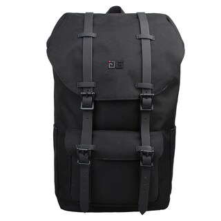 AfterGen Empire Black Polyester Backpack