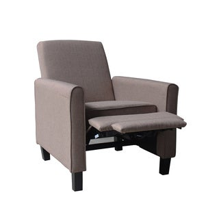 Contemporary Fabric Compact Recliner Chair
