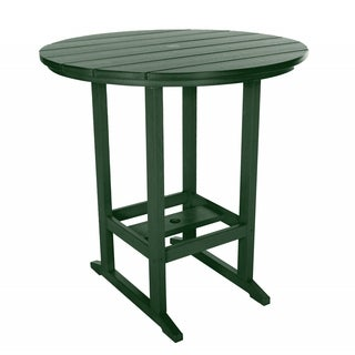 Pawley's Island Blue/Green Plastic Outdoor High Dining Table