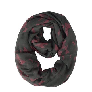 Link to Peach Couture Women's Butterfly Sheer Infinity Scarves Loop Similar Items in Scarves & Wraps
