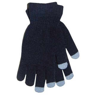 Boss Gloves BLACK Black Knit Touch Screen Gloves