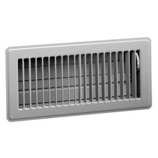 "Norwesco 558027 16"" x 8"" Galvanized Soffit Vents With Damper"