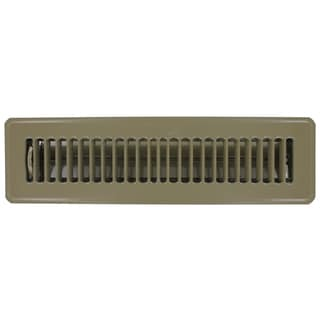 "Norwesco 558007 16"" x 8"" Galvanized Undereave Soffit Vent"