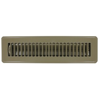 "Norwesco 558006 16"" x 6"" Galvanized Undereave Soffit Vent"
