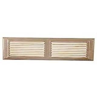 Norwesco 558005 16-inch x 4-inch Galvanized Undereave Soffit Vent