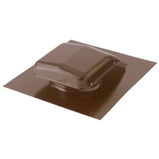 "Norwesco 556154 18"" x 22"" Brown Roof RV49 Ventilator"