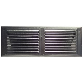 "Norwesco 556147 16"" x 6"" BrownSoffit Vent"