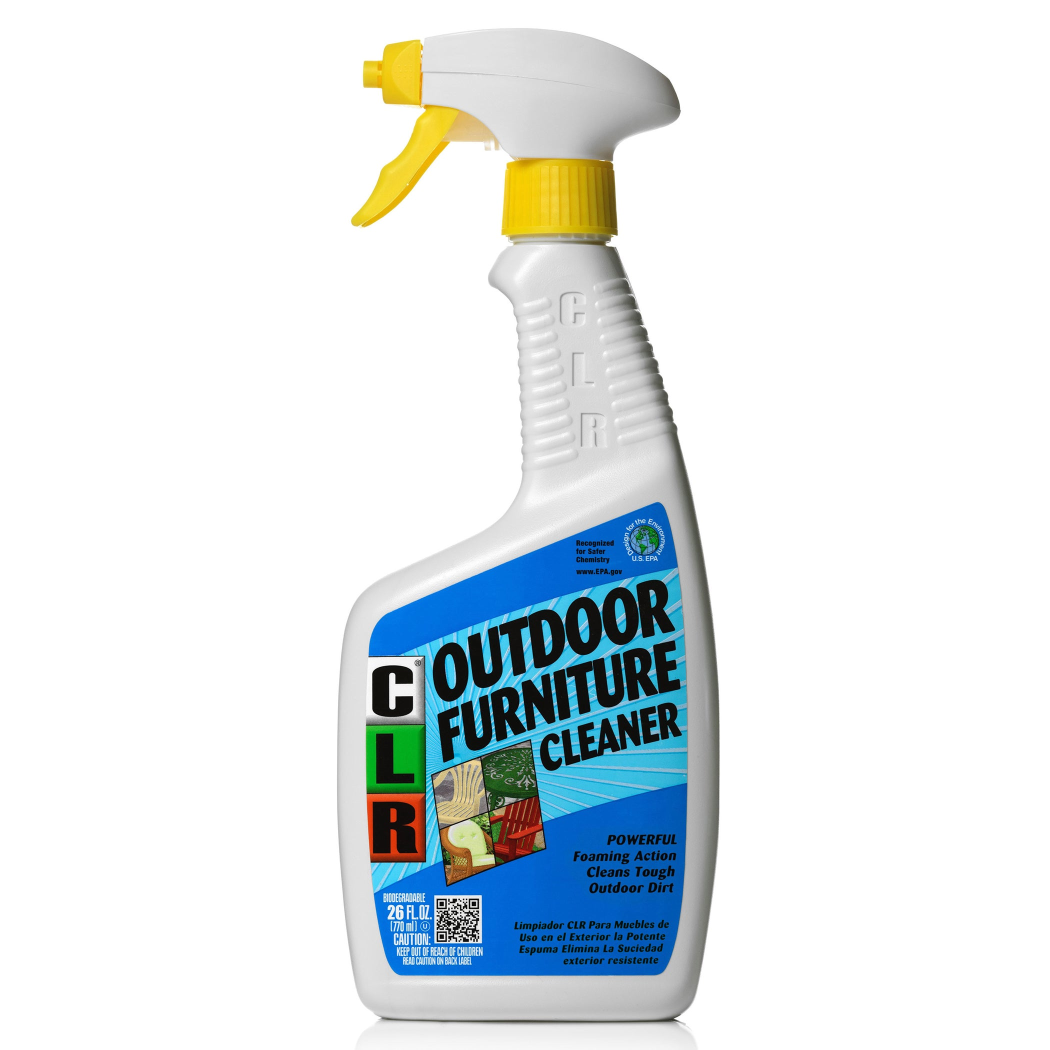 Details about jelmar of 26 26 oz c l r outdoor furniture cleaner white