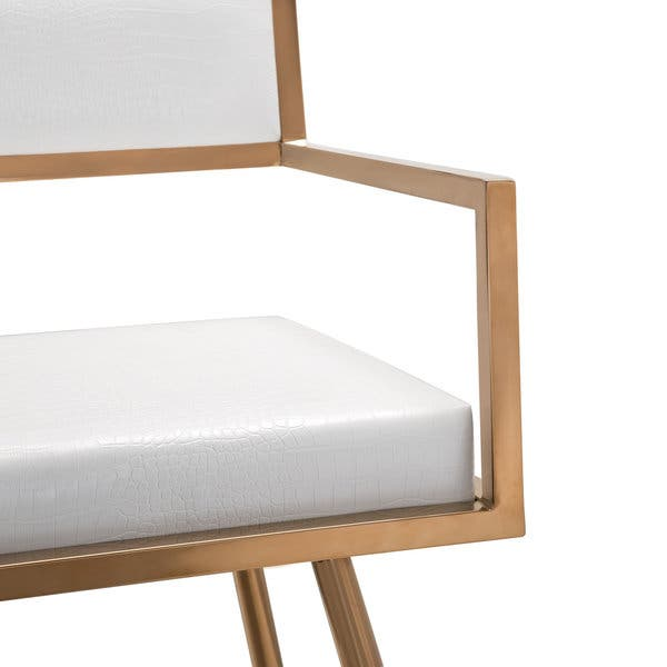 Swell Shop Marquee Mid Century Modern White Accent Chair Set Of 2 Andrewgaddart Wooden Chair Designs For Living Room Andrewgaddartcom