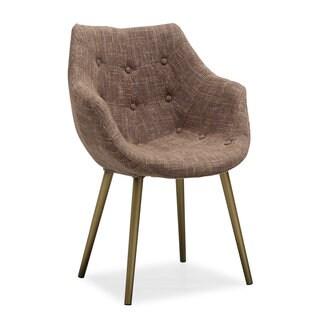 Finn Brown Tweed Chair