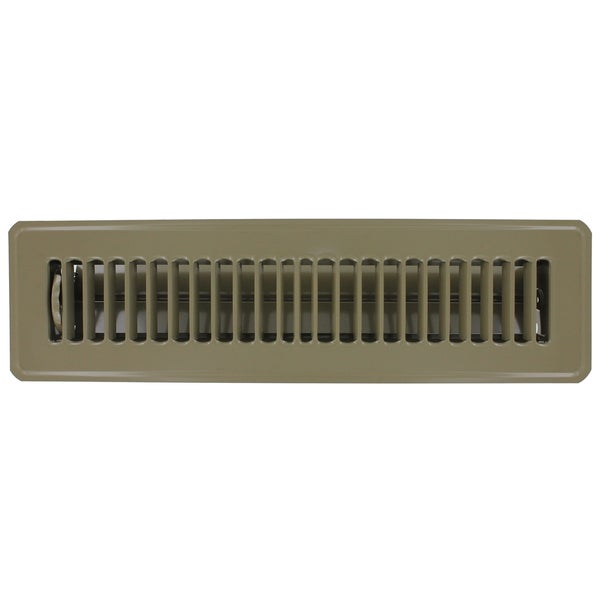 American metal products brown steel floor register 2 39 39 x for 10 x 14 floor register