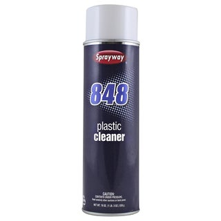 Sprayway SW848 20 Oz Aerosol Plastic Cleaner
