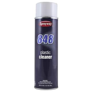 Sprayway SW848 20 Oz Aerosol Plastic Cleaner https://ak1.ostkcdn.com/images/products/12543003/P19345737.jpg?impolicy=medium