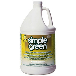 Simple Green 3010100614010 1 Gallon Lemon Scent Simple Green All Purpose Conc Cleaner