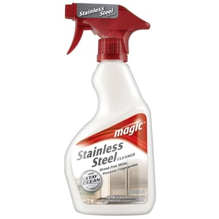 Magic 3055 14 Oz SS Cleaner W/ Stay Clean Technology Trigger