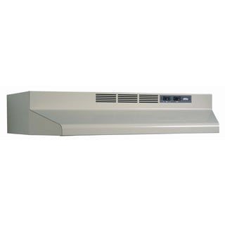 "Broan F403008 30"" Almond Convertible Range Hood"