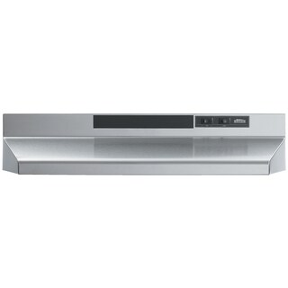 "Broan F403004 30"" Stainless Steel Two-Speed Convertible Range Hood"