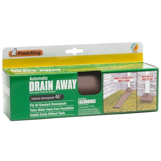 "Frost King DE46BRN 46"" Brown Drain Away"