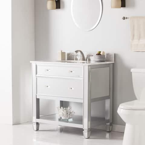Harper Blvd Sutcliffe Marble Top Bath Vanity Sink