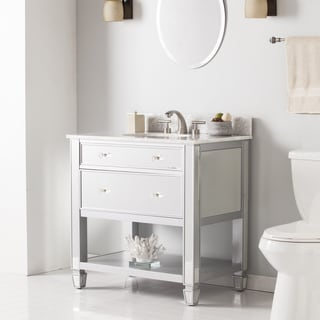 White Bathroom Sink Cabinets white bathroom vanities & vanity cabinets - shop the best deals