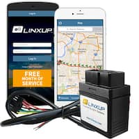 Linxup GPS Tracking, GPS Tracker Locator, Car Tracker with Free Month of GPS Service, Wired Version