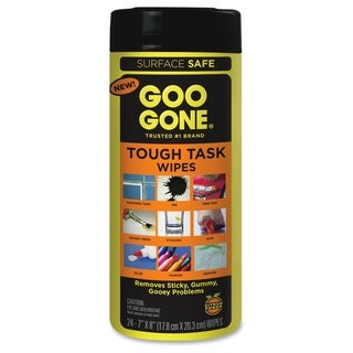 Weiman Products Goo Gone Tough Task Wipes