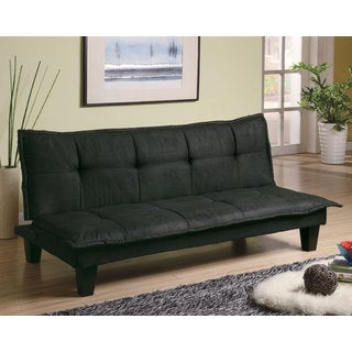 Coaster Company Grey/Black Fabric Sofa Bed