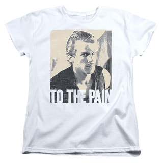 Princess Bride/To The Pain Short Sleeve Women's Tee in White
