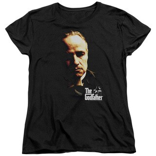 Godfather/Don Vito Short Sleeve Women's Tee in Black