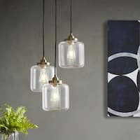 INK+IVY Oslo Bronze Three-light Pendant