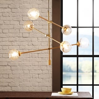 Link to Carson Carrington Tomten 6-light Sputnik Chandelier Similar Items in Chandeliers