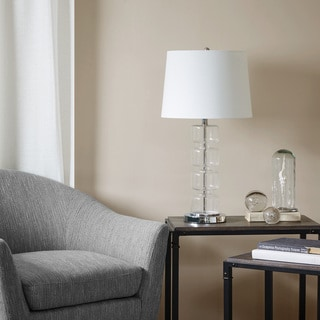 INK+IVY Abel Silver Table Lamp