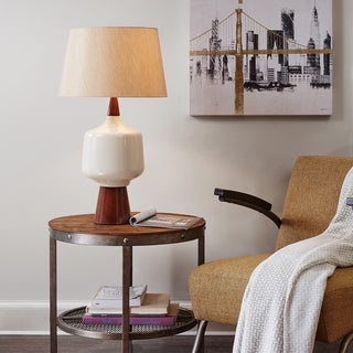 INK+IVY Monae Cream Table Lamp