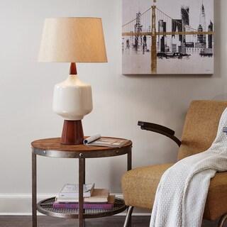 INK+IVY Monae Cream Table Lamp