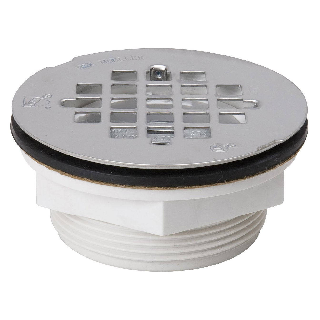 B And K Industries 133-102 Quick Caulking Shower Drains (...