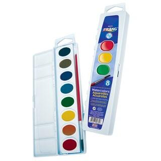 Prang 80525 Washable Watercolors Set 8 Color