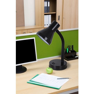 Tensor 17341-005 14-Inch Black Flexible Gooseneck Desk Lamp