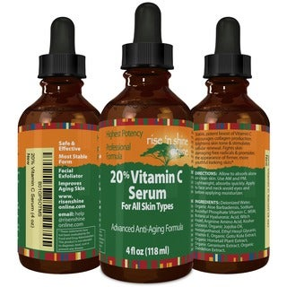 Rise 'N Shine 20-percent Vitamin C 4-ounce Serum with Hyaluronic Acid