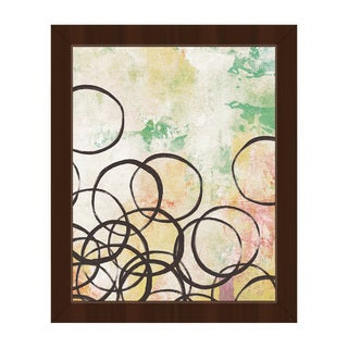 Ring Toss Spring' Framed Canvas Wall Art