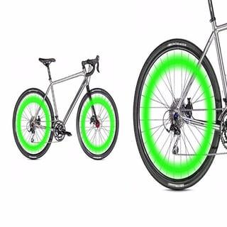 ETCBUYS Motion Activated Bike Bicycle Wheel Safety LED Lights (Set of 4)