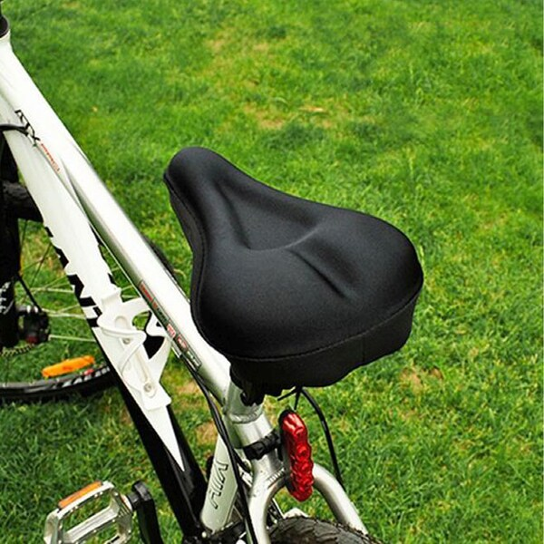 Extra Comfort Gel Cycling Bicycle Bike Saddle Seat Cushion Pad Cover