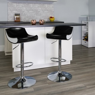 Adjustable Plastic Barstool