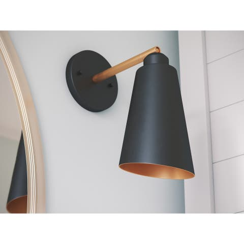 Brady 1-Light Two-Tone Sleek Sconce