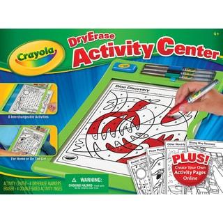 Crayola 98-8574 Dry Erase Activity Center