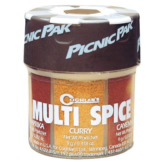 Coghlans 9961 Multi Spice Pack (Multi Spice), Red cayenne
