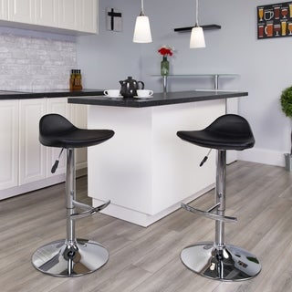 Vinyl Adjustable Barstool