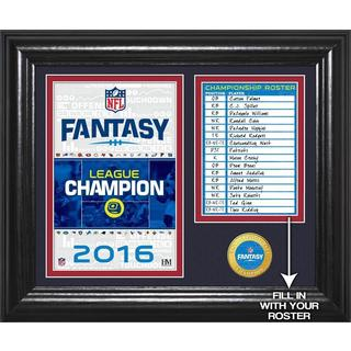 NFL Fantasy Football Champions Desk Top Bronze Coin Photo Mint