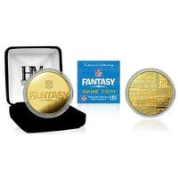 NFL Fantasy Football Gold Game Coin