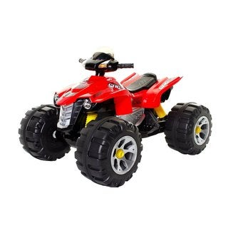 Dynacraft Surge 12V XL Quad Battery-powered Truck - Red