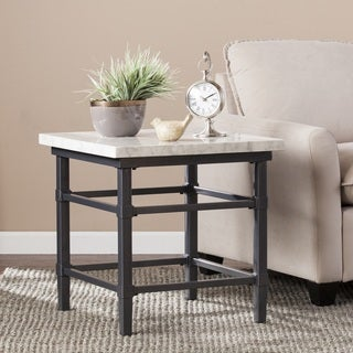 Harper Blvd Timmons Faux Marble End/ Side Table